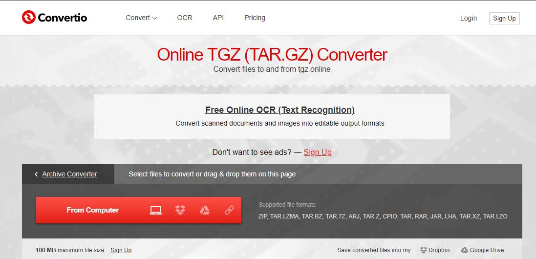 Вот как открыть файлы TGZ в Windows 10