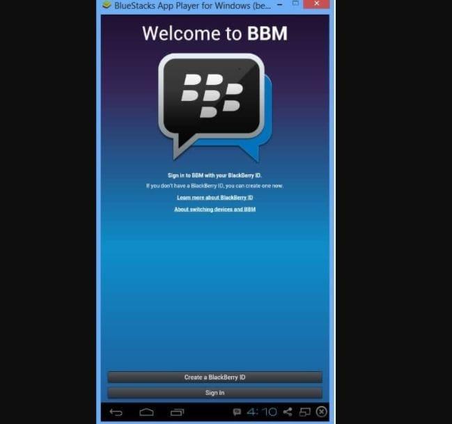 Как установить приложение BBM (Blackberry Messenger) в Windows